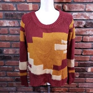 Staring at the Stars UO Scoopneck Sweater